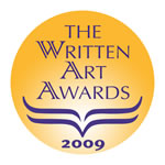 Rebecca's Reads Writter Art Awards Seal